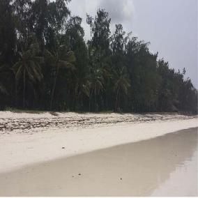 0.75 acres in Galu Beach off Diani Beach Road